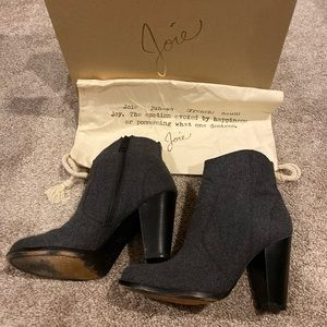 Joie black rigby boots